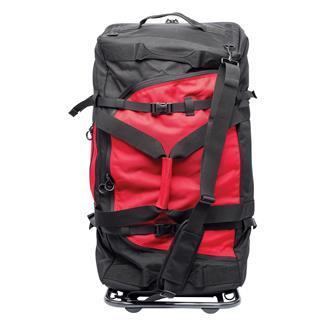 Blackhawk Diversion Rolling Load-Out Bag Black Red