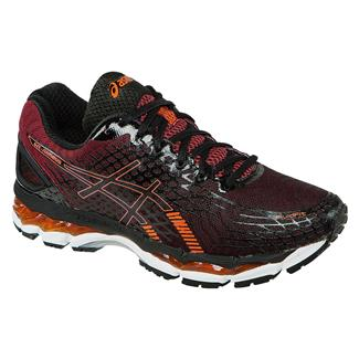ASICS GEL-Nimbus 17 Black / Hot Orange / Deep Ruby