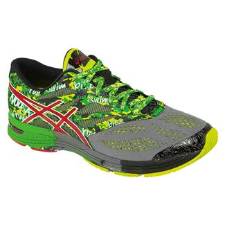 ASICS GEL-Noosa Tri 10 Carbon / Fiery Red / Green
