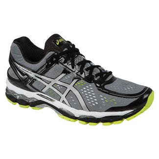 ASICS GEL-Kayano 22 Charcoal / Silver / Lime