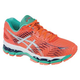 ASICS GEL-Nimbus 17 Flash Coral / White / Indigo Blue
