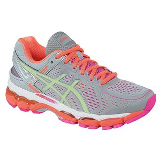 ASICS GEL-Kayano 22 Silver Gray / Pistachio / Fiery Coral
