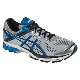ASICS GT-1000 4 Silver / Electric Blue / Black