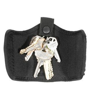 Blackhawk Silent Key Holder Plain Black Non-Molded