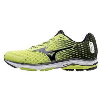 Mizuno Wave Rider 18 Lime Punch / Black / Silver