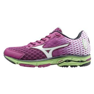 Mizuno Wave Rider 18 Wild Aster / White / Grass Green