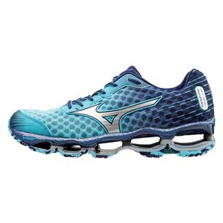 Mizuno Wave Prophecy 4 Blue Atoll / Silver / Blue Depths