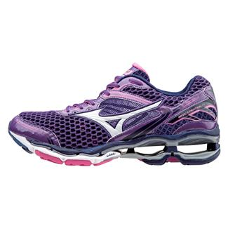 Mizuno Wave Creation 17 Pansy / White / Electric
