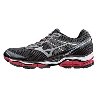 Mizuno Wave Enigma 5 Dark Shadow / Silver / Shin Red