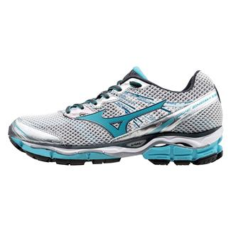 Mizuno Wave Enigma 5 Silver / Blue Atoll / Dark Shadow