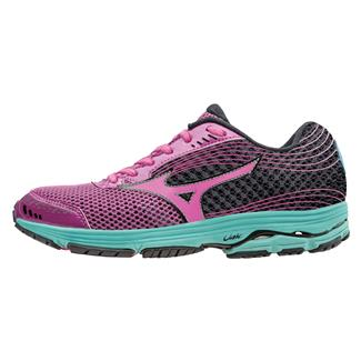 Mizuno Wave Sayonara 3 Wild Aster / Electric / Black