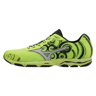 Mizuno Wave Hitogami 2 Neon Yellow / Silver / Black
