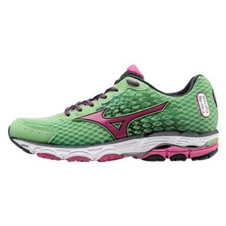 Mizuno Wave Inspire 11 Grass Green / Fuchsia Purple / Dark Shadow