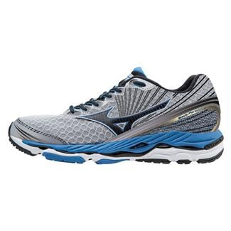 Mizuno Wave Paradox 2 Alloy / Black / Electric Blue Lemonade