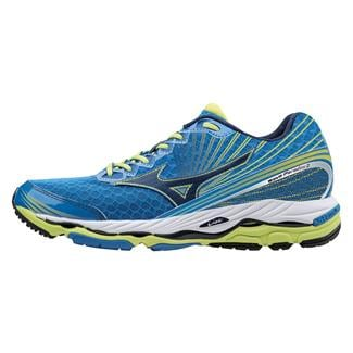 Mizuno Wave Paradox 2 Electric Blue Lemonade / Dress Blue / Lime Punch