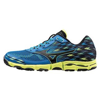 Mizuno Wave Hayate 2 Electric Blue Lemonade / Black / Lime Punch
