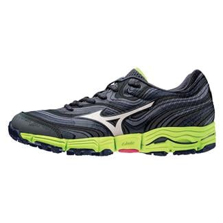 Mizuno Wave Kazan Dark Shadow / White / Lime Punch