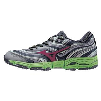 Mizuno Wave Kazan Alloy / Wild Aster / Greenery