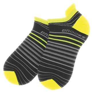 Brooks Radical Lightweight Tab Socks Black / Nightlife