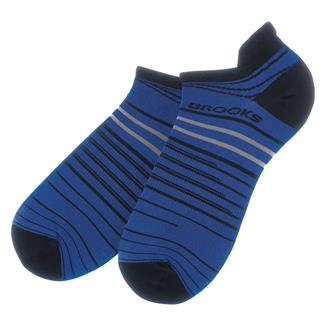 Brooks Radical Lightweight Tab Socks Navy / Marathon
