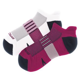Brooks Ghost Midweight Tab Socks (2 pack) Currant / Navy & Oxford / Navy