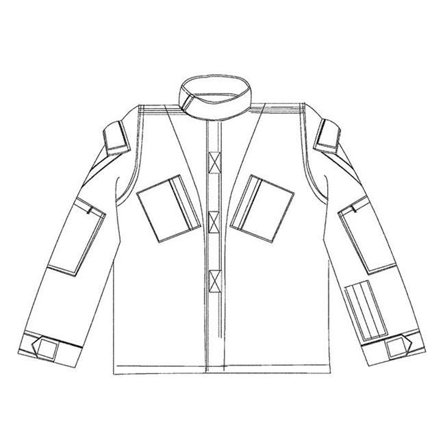 Propper Poly / Cotton Ripstop ACU Coats Digital Woodland
