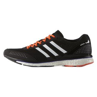 Adidas Adizero Adios Boost 2 Black / White / Solar Red