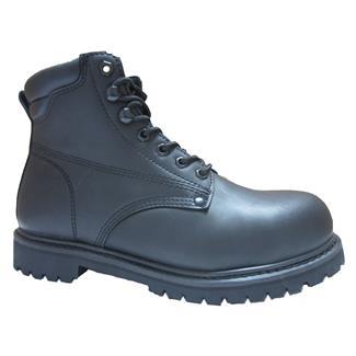 "Golden Retriever 6"" Work Boot Black"