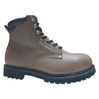 """Golden Retriever 6"""" Work Boot Brown"""