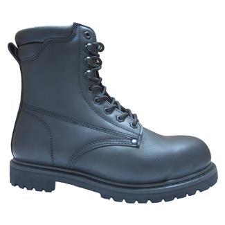 "Golden Retriever 8"" Work Boot Black"