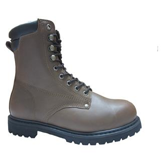 "Golden Retriever 8"" Work Boot Brown"
