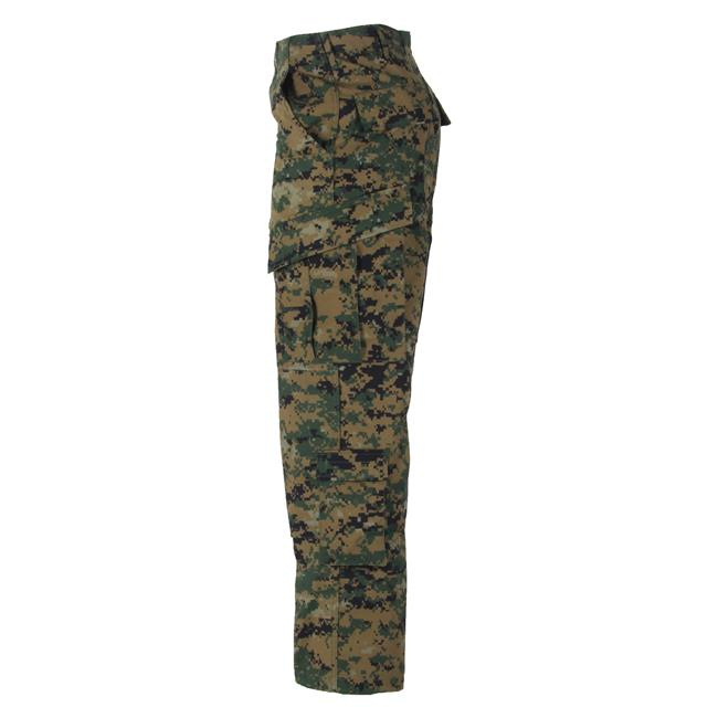 Propper Poly / Cotton Ripstop ACU Pants Digital Woodland