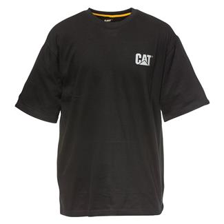 CAT Reflective Yoke T-Shirt Black
