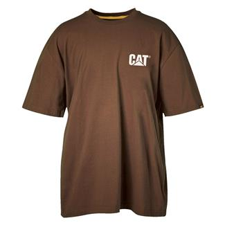 CAT Trademark T-Shirt Dark Earth