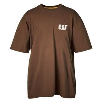 CAT Trademark T-Shirt Dark Earth