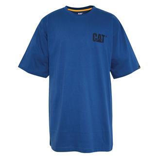 CAT Trademark T-Shirt Bright Blue