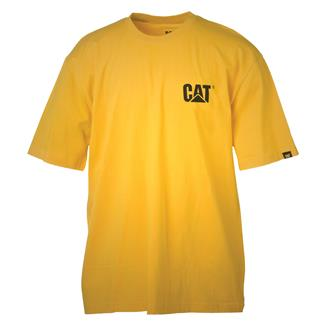 CAT Trademark T-Shirt Yellow