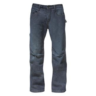 CAT Work Tough Denim Jeans Rinsed Denim