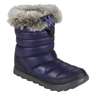 The North Face Thermoball Micro-Baffle Bootie Shiny Astral Aura Blue / Blue Iris