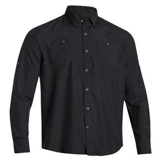 Under Armour HeatGear Long Sleeve Chesapeake Shirt Black