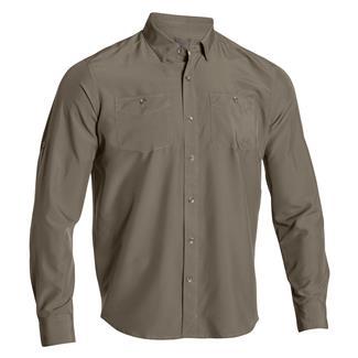 Under Armour HeatGear Long Sleeve Chesapeake Shirt Marine OD Green