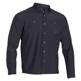 Under Armour HeatGear Long Sleeve Chesapeake Shirt Dark Navy Blue