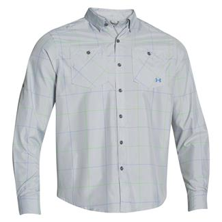 Under Armour HeatGear Long Sleeve Chesapeake Shirt Elemental / Ceylon (Harrison Plaid)
