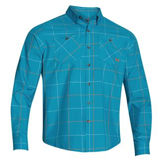 Under Armour HeatGear Long Sleeve Chesapeake Shirt Deceit / Hipster (Harrison Plaid)