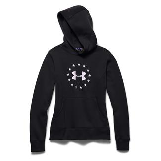 Under Armour ColdGear Freedom Hoodie Black / Cloud Gray
