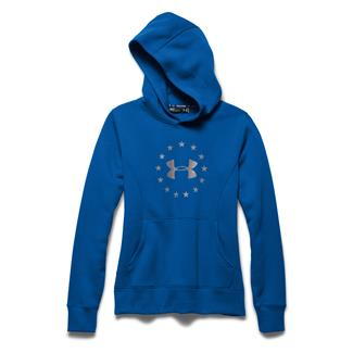 Under Armour ColdGear Freedom Hoodie Superior Blue / Boulder