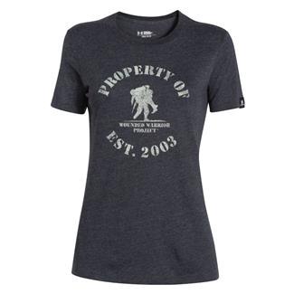 Under Armour HeatGear Property of WWP T-Shirt Black / Sugar Mint