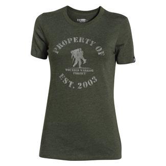Under Armour HeatGear Property of WWP T-Shirt Artillery Green / Boulder