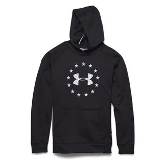 Under Armour ColdGear Freedom Hoodie Black / White
