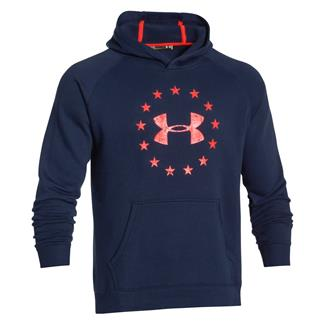 Under Armour ColdGear Freedom Hoodie Academy / Bolt Orange